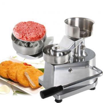 2100 Pieces Per Hour Burger Patty Press