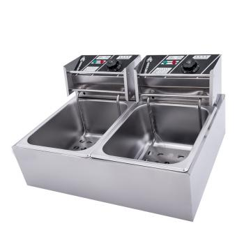 28 L Commercial Chicken Electric Deep Fryer Gas Fryer