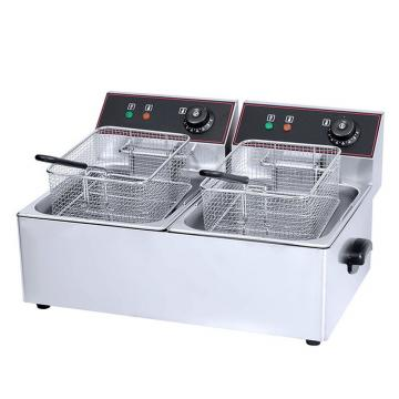 Free Standing Electric Deep Fryer for Sale, Commercial Micro Computer Control Chicken Fryer with Timer Hot in Malaysia
