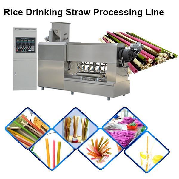 single color drinking straw making extruder machine plastic pipe lollipop stick making machine