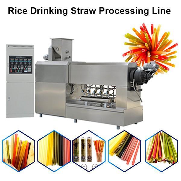 PP Plastic Drinking Straw Extruding Machine