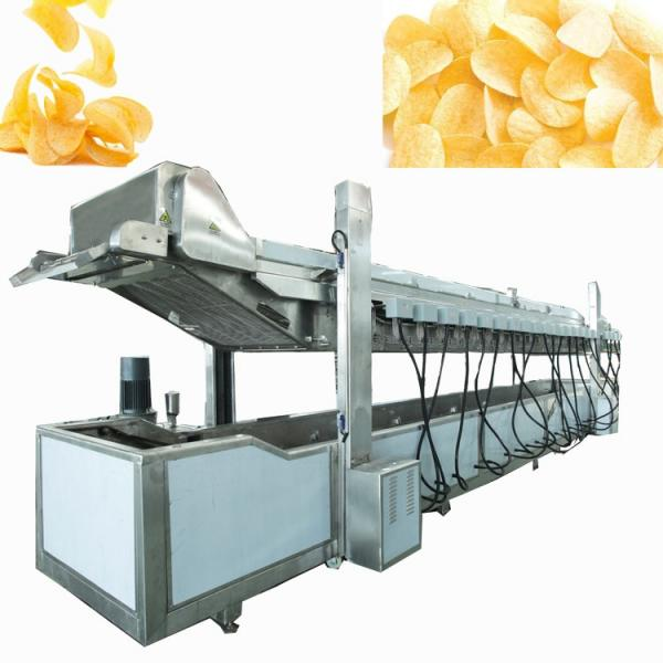 Factory Price Industrial Fully Automatic Fryed Potato Flakes Chips Making Machine
