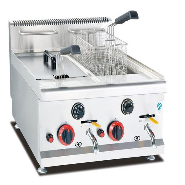 Industrial Table Fryer Powered by Electric, Chicken Fish Chip Deep Fryer Good Price
